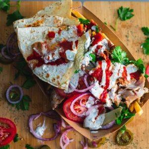 Shawarma tál